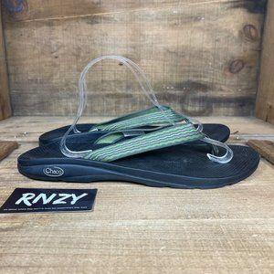Chaco Ecotread Green Flip Flop Comfort Sandal